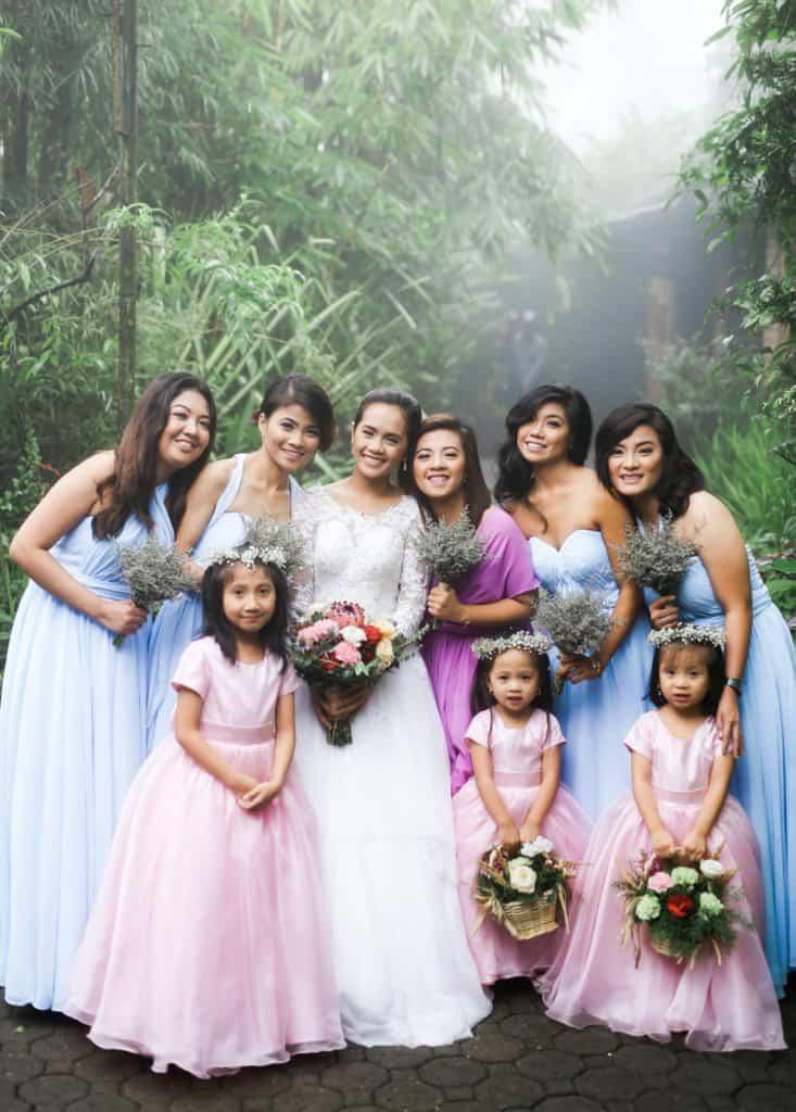 charitable wedding & bridal shower